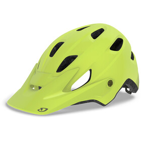 Giro Chronicle MIPS Casque, matte citron/heatwave